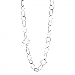 Principles by Ben de Lisi - Designer textured link long chain necklace