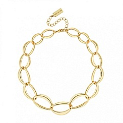 Principles by Ben de Lisi - Designer gold chain link necklace