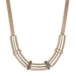 Principles by Ben de Lisi - Designer crystal rondel tubular necklace