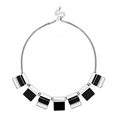 Principles by Ben de Lisi - Designer geometric monochrome necklace