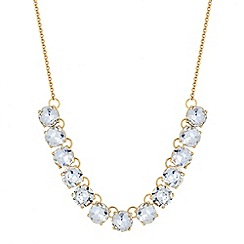 Principles by Ben de Lisi - Designer round crystal link necklace