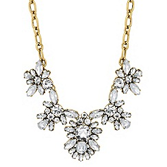 Principles by Ben de Lisi - Designer mixed crystal cluster necklace