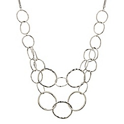 Principles by Ben de Lisi - Designer double row polished link necklace