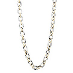 Principles by Ben de Lisi - Designer two tone link chain necklace