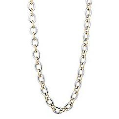 Principles by Ben de Lisi - Designer two tone link chain necklace
