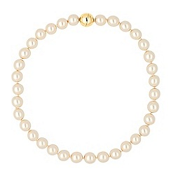 Principles by Ben de Lisi - Designer cream pearl magnetic necklace