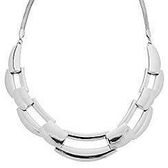 Principles by Ben de Lisi - Designer polished link collar necklace