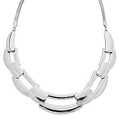 Principles by Ben de Lisi - Designer polished link collar necklace