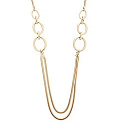 Principles by Ben de Lisi - Designer polished link and snake chain rope necklace