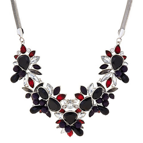 Principles by Ben de Lisi - Designer multi stone and bead cluster necklace