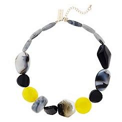 Principles by Ben de Lisi - Designer mixed shape necklace