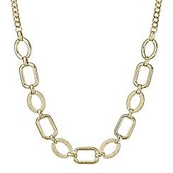 Principles by Ben de Lisi - Designer multi shape pave link necklace