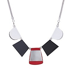 Principles by Ben de Lisi - Designer multi shape block necklace