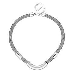 Principles by Ben de Lisi - Designer silver tube necklace
