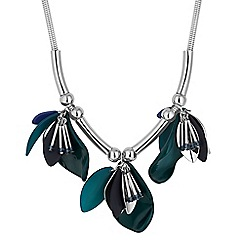 Principles by Ben de Lisi - Designer flower crystal charm necklace