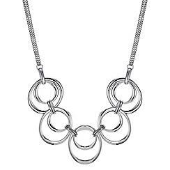 Principles by Ben de Lisi - Designer oval hoop linked necklace