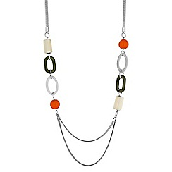 Principles by Ben de Lisi - Oval link long necklace