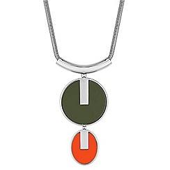 Principles by Ben de Lisi - Oversized disc statement necklace