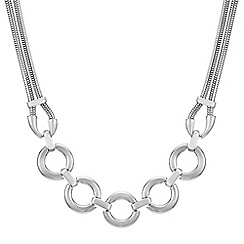 Principles by Ben de Lisi - Designer circle link necklace