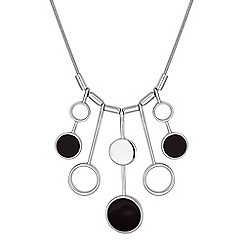 Principles by Ben de Lisi - Designer circle drop necklace