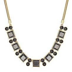 Principles by Ben de Lisi - Designer crystal square necklace