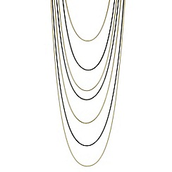 Principles by Ben de Lisi - Designer multi tone multi row necklace