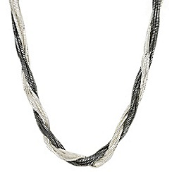 Principles by Ben de Lisi - Designer multi tone twisted chain necklace