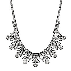 Principles by Ben de Lisi - Designer crystal cluster statement necklace