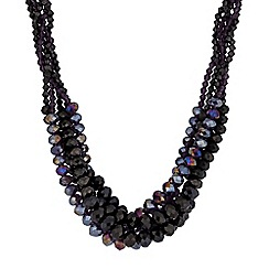 Principles by Ben de Lisi - Designer beaded twist necklace