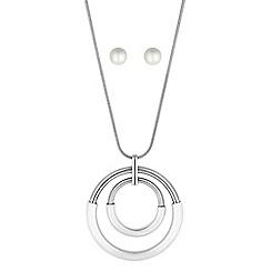 Principles by Ben de Lisi - Designer circle link jewellery set