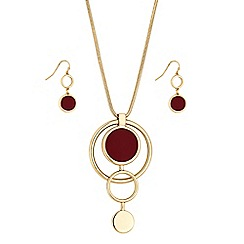 Principles by Ben de Lisi - Designer circle link jewellery set