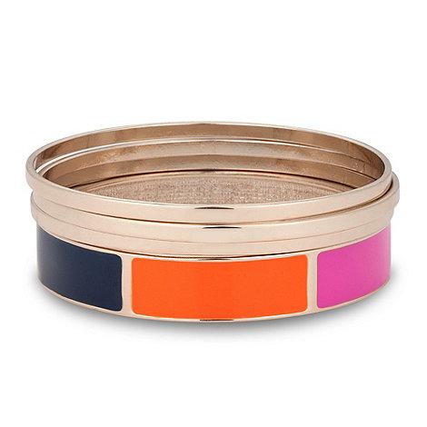Principles by Ben de Lisi - Designer multicoloured enamel bangle set