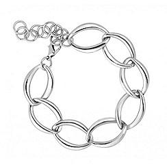 Principles by Ben de Lisi - Designer silver chunky chain bracelet