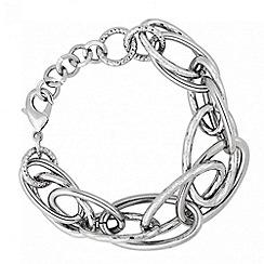 Principles by Ben de Lisi - Designer textured link chain bracelet