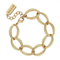 Principles by Ben de Lisi - Designer gold chain link bracelet