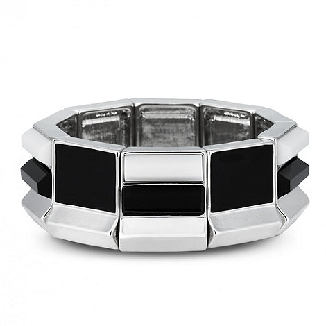 Principles by Ben de Lisi - Designer geometric enamel stretch bracelet