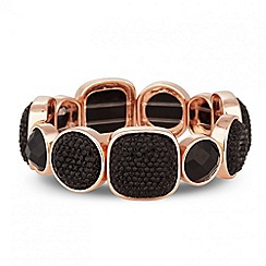 Principles by Ben de Lisi - Designer jet multi stone stretch bracelet