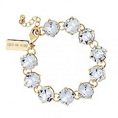 Principles by Ben de Lisi - Designer round crystal link bracelet