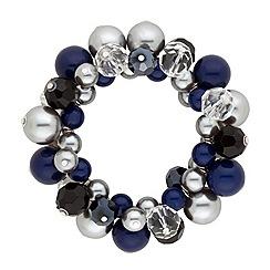 Principles by Ben de Lisi - Designer pearl and facet bead cluster bracelets
