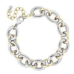 Principles by Ben de Lisi - Designer two tone link chain bracelet