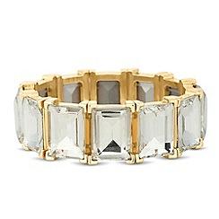 Principles by Ben de Lisi - Designer baguette crystal stretch bracelet