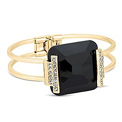 Principles by Ben de Lisi - Designer jet stone hinged bangle