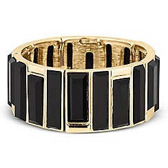 Principles by Ben de Lisi - Designer jet stick panel stretch bracelet