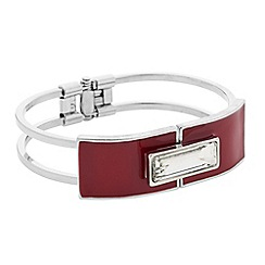 Principles by Ben de Lisi - Designer baguette and red enamel bangle
