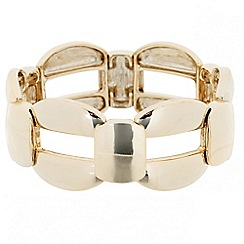 Principles by Ben de Lisi - Designer polished link stretch bracelet