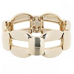 Principles by Ben de Lisi - Designer polished link stretch bracelet