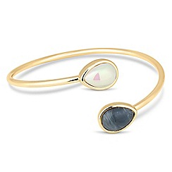 Principles by Ben de Lisi - Cross over stone bangle