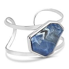 Principles by Ben de Lisi - Marble stone cuff bracelet