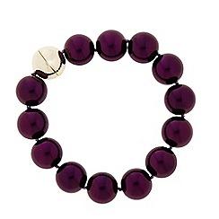 Principles by Ben de Lisi - Designer Pearl strand magnetic bracelet