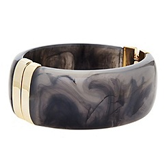 Principles by Ben de Lisi - Designer grey marble effect bangle